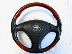 Руль. Toyota: Windom, Allion, Aurion, Allex, Aristo, Verossa, Ipsum, Avensis, Estima Hybrid, Corolla, Altezza, Avensis Verso, Estima, Vista, Mark II W...