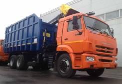 Майкопский машиностроительный завод Майман-110S. Ломовоз КамАЗ-65115 Майман-110S, захват ГЛ-6, 8 200куб. см.