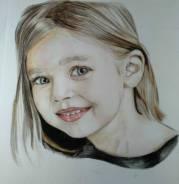 Рисую портреты по фото формата А4 в технике простой/цветной карандаш