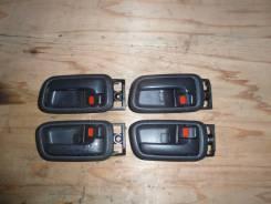 Ручка двери внутренняя. Toyota Land Cruiser, FZJ100, FZJ105, HDJ100, HDJ100L, HDJ101, HDJ101K, HZJ105, HZJ105L, UZJ100, UZJ100L, UZJ100W Toyota Harrie...
