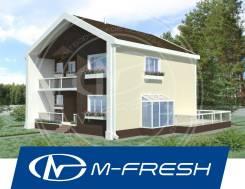 M-fresh Mattisto! -зеркальный (Стеклянный эркер, накрытый балкон! ). 200-300 кв. м., 2 этажа, 5 комнат, бетон