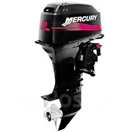 Mercury. 30,00л.с., 2-тактный, бензиновый, нога S (381 мм), Год: 2018 год