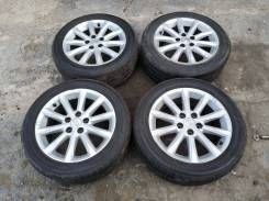 "Колеса Crown 215/55R17 2015г Bridgestone. 7.0x17"" 5x114.30 ET40"