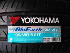 Yokohama BluEarth AE-01. Летние, 2018 год, без износа, 4 шт