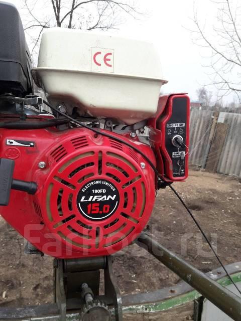 Лодочный мотор болотоход. 15,00л.с., 4-тактный, бензиновый, нога S (381 мм), Год: 2016 год