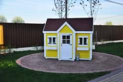 Детские игровые площадки, домики из массива. Проектируем, строим!. Под заказ