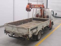 Hino Dutro. Продам грузовик бортовой с манипулятором xzu340, 5 300 куб. см., до 3 т. Под заказ