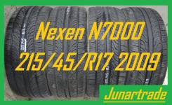 Nexen N7000. Летние, 2009 год, износ: 5%, 4 шт