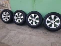 Продам диски+шины 265/60/18 на Prado 120/150 Pajero. 7.5x18 6x139.70 ET25 ЦО 106,0мм.