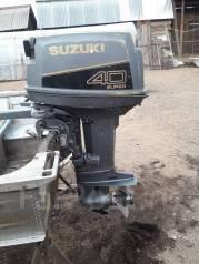 Suzuki. 40,00л.с., 2-тактный, бензиновый, нога S (381 мм), Год: 1997 год