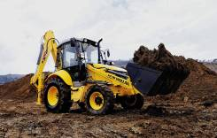 New Holland B100B. Экскаватор-погрузчик , 1 200,00 куб. м.