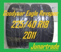 Goodyear Eagle Revspec RS-02. Летние, 2011 год, 30%, 2 шт