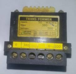 Трансформатор 50вт 380/200в