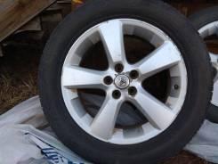 Шины в комплекте с дисками Toyota,. 7.0x18 5x114.30 ET35 ЦО 60,1мм.