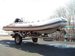 Одиссей. 2014 год год, длина 380,00м., двигатель без двигателя, 60,00л.с., бензин