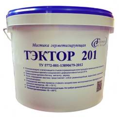 Герметик для швов ГЕРМАБУТИЛ/ТЭКТОР 201 (серый, комплект 12,5 кг)