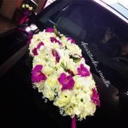 Украшение для свадебного автомобиля, автомобиля на выписку из роддома