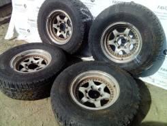 "Крутые литые диски на шинах Yokohama 265/70R15. 6.0x15"" 6x139.70 ET-10"