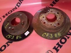 Диск тормозной. Honda Accord, CF3, CF4, CF5, CF6, CF7, CL3 Honda Torneo, CF3, CF4, CF5, CL3 Двигатели: F18B, F20B, F23A