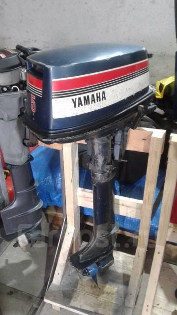 Yamaha. 5,00л.с., 2-тактный, бензиновый, нога L (508 мм), Год: 2000 год