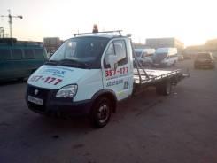 ГАЗ ГАЗель. Продам заводской эвакуатор на базе а/м Газель в Улан-Удэ, 2 400 куб. см., 2 500 кг.