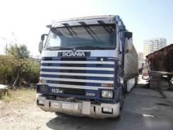 Scania. Продаю сцепку Скания М113 1996 г с п/п Кроне штора 2001 г, 11 020 куб. см., 10 т и больше