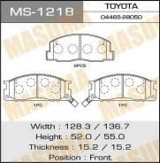 Колодки дисковые MASUMA аналог MS-1327 (1/12) MS-1218