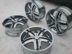 Dolce Wheels. 7.5x18, 4x100.00, 4x114.30, ET45, ЦО 72,0мм.