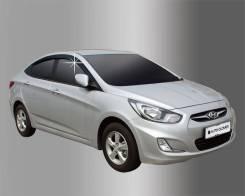 Ветровик на дверь. Hyundai Accent Hyundai Solaris, RB Двигатели: G4FA, G4FC