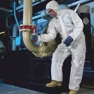 Комбинезон для защиты от грязи и легких химикатов SafeGard White