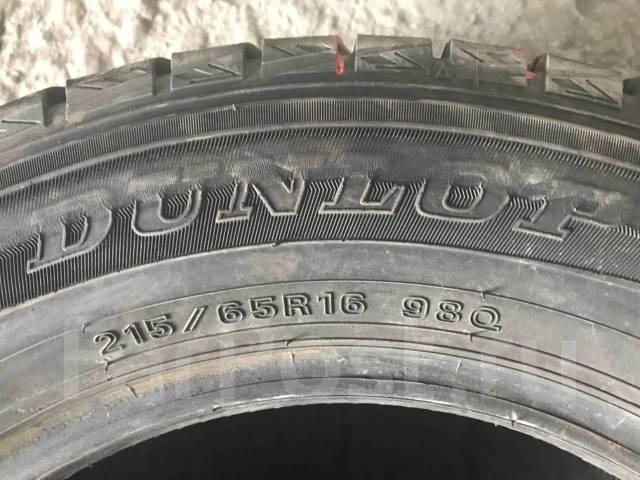 Dunlop. Зимние, без шипов, 2015 год, износ: 10%, 4 шт
