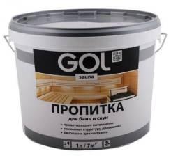 Пропитка для БАНЬ и САУН GOL sauna 3л/2 311-3