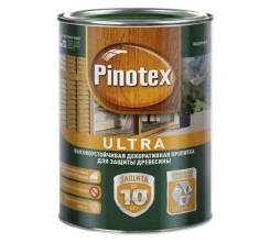 Пропитка Pinotex Ultra белый, 2,7л
