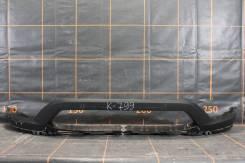 BMW X1 E84 - Облицовка бампера передняя нижняя