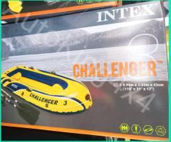 Intex Challenger. Год: 2017 год, длина 2,95м., двигатель без двигателя