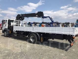 Daewoo Novus. 8 тонн 2018 год с КМУ HTS 2076 (аналог Hiab 190), 4x2