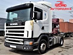Scania. Седельный тягач R124L, 11 705куб. см., 13 116кг.