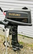 Suzuki. 4,00л.с., 2-тактный, бензиновый, нога S (381 мм), Год: 1997 год