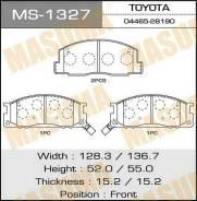 Колодки дисковые MASUMA аналог MS-1218 (1/12) MS-1327