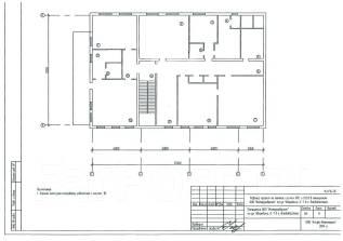 Офис в центре Владивостока. 250 кв.м., улица Уборевича 7, р-н Центр. План помещения