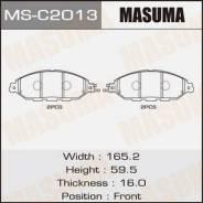 Колодки дисковые MASUMA PATHFINDER/ R52R front (1/8) MS-C2013