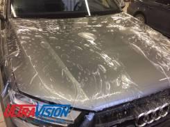 Оклейка автомобиля защитной антигравийной пленкой Hexis (Франция)