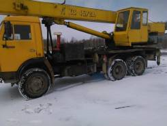 КамАЗ 53212. Продается автокран, 21 000 куб. см., 20 000 кг., 21 м.