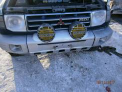 Бампер передний Mitsubishi Pajero V45W 6G74 в Новокузнецке