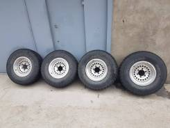 Комплект колес литье Japan резина Yokohama Geolandar 265 75 15. 7.0x15 ET-10