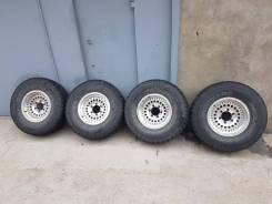 "Комплект колес литье Japan резина Yokohama Geolandar 31x10.5 R15. 7.0x15"" ET-10"