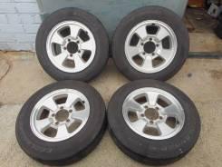 "Продаю комплект летних колес 175/80/16 на литье на Suzuki Jimny. 5.5x16"" 5x139.70 ET22 ЦО 110,0мм."