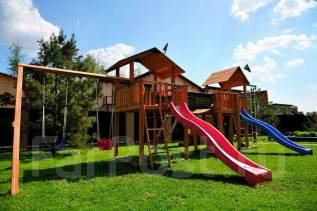 Детский игровой комплекс Jungle gym mansion deluxe