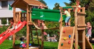 Детский игровой комплекс Cottage + Bridge