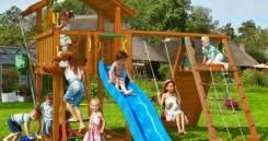 Детская игровая площадка Chalet + Climb